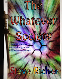 Portada del libro The Whatever Society, de Steve Richer