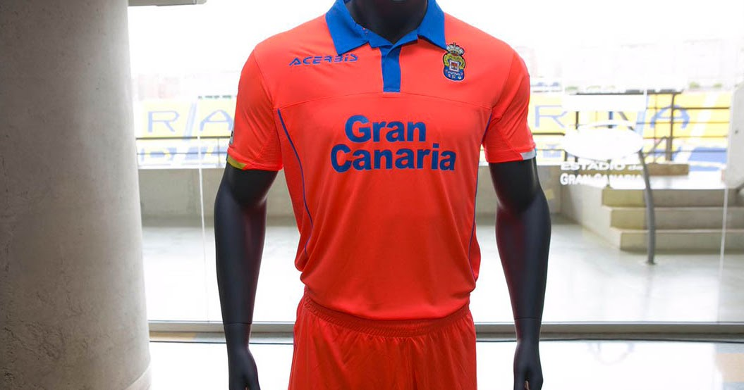ud las palmas 16 17 home and away kits released   footy
