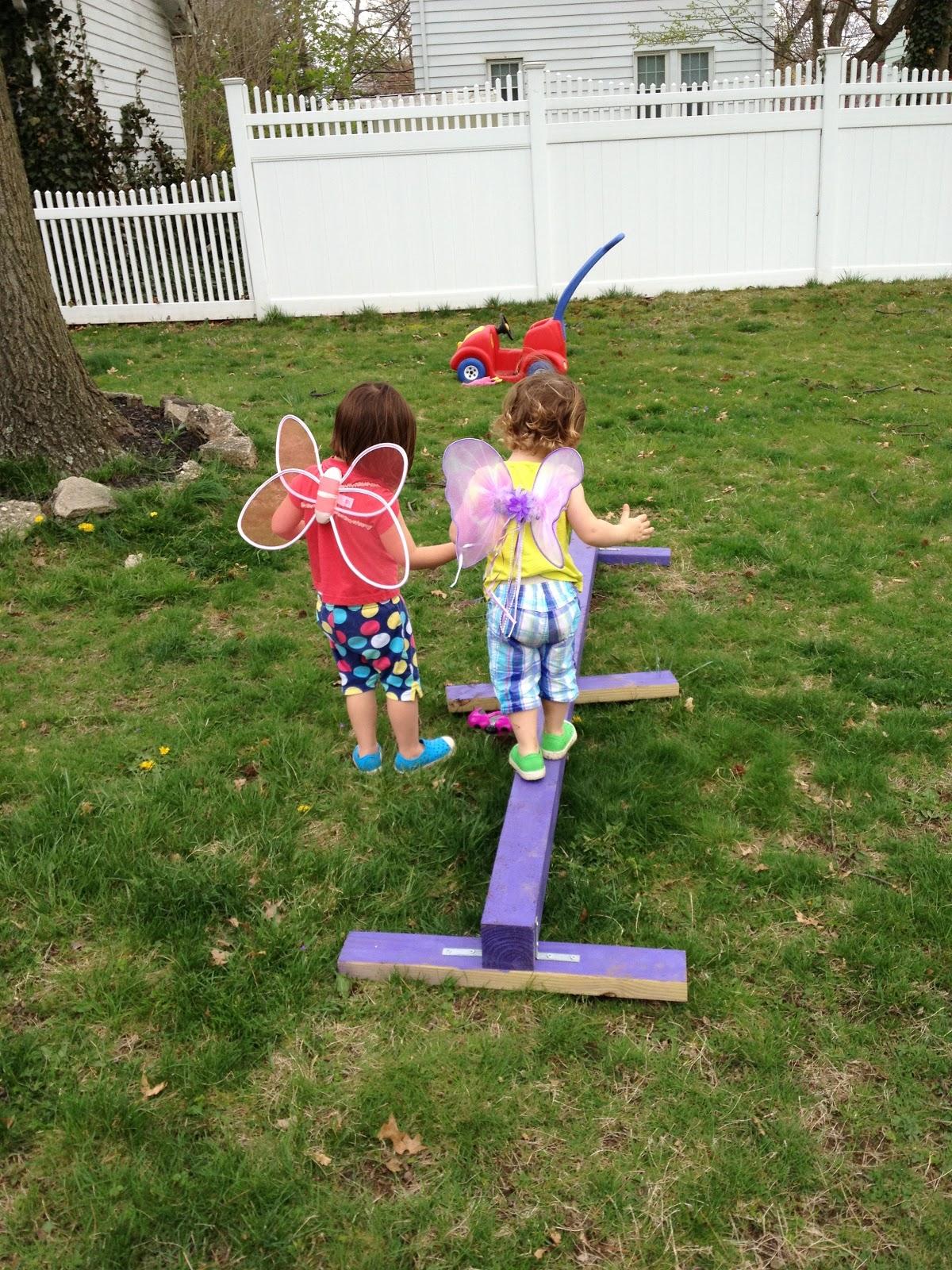 DIY Balance Beam The Chirping Moms