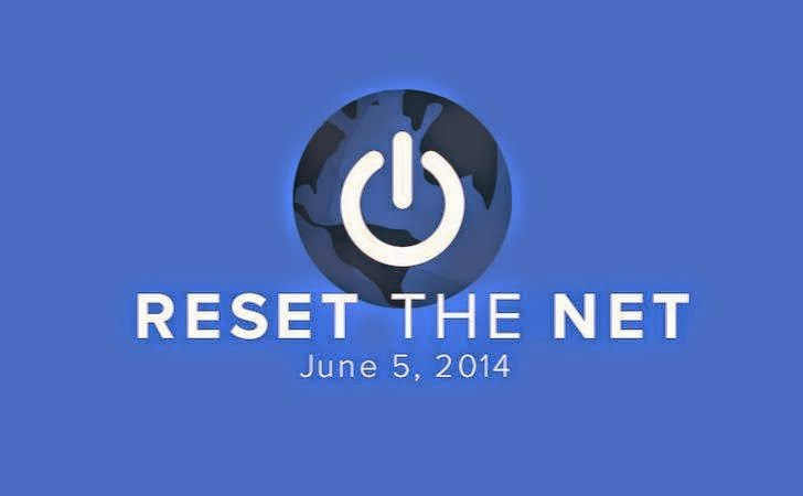 Protest against NSA, Reset the net, STOP SOPA
