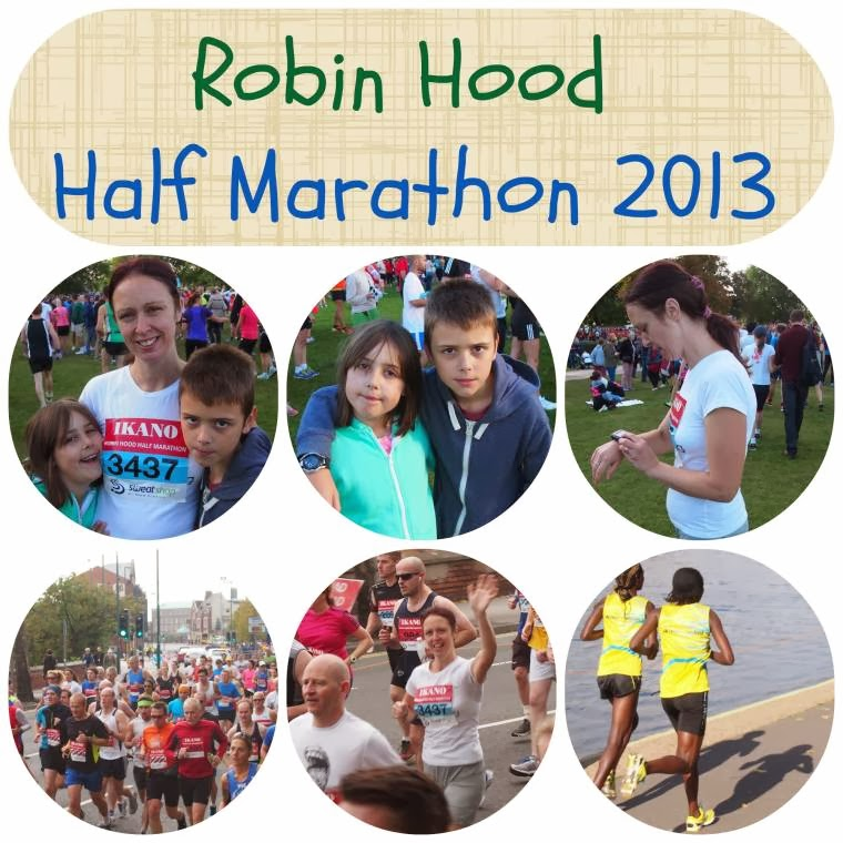 Robin Hood Half Marathon 2013: Wordless Wednesday