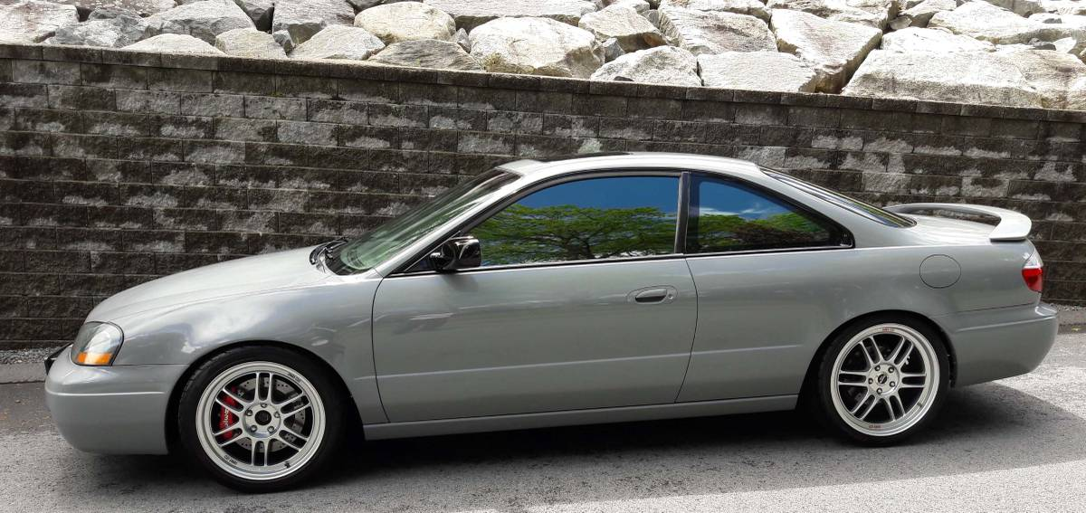 Daily Turismo: Grey Sky: 2003 Acura CL Type S