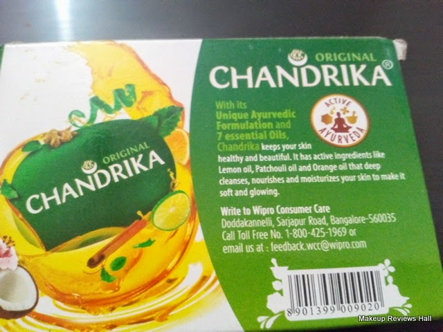 CHANDRIKA Original Soap Review on Acne Skin