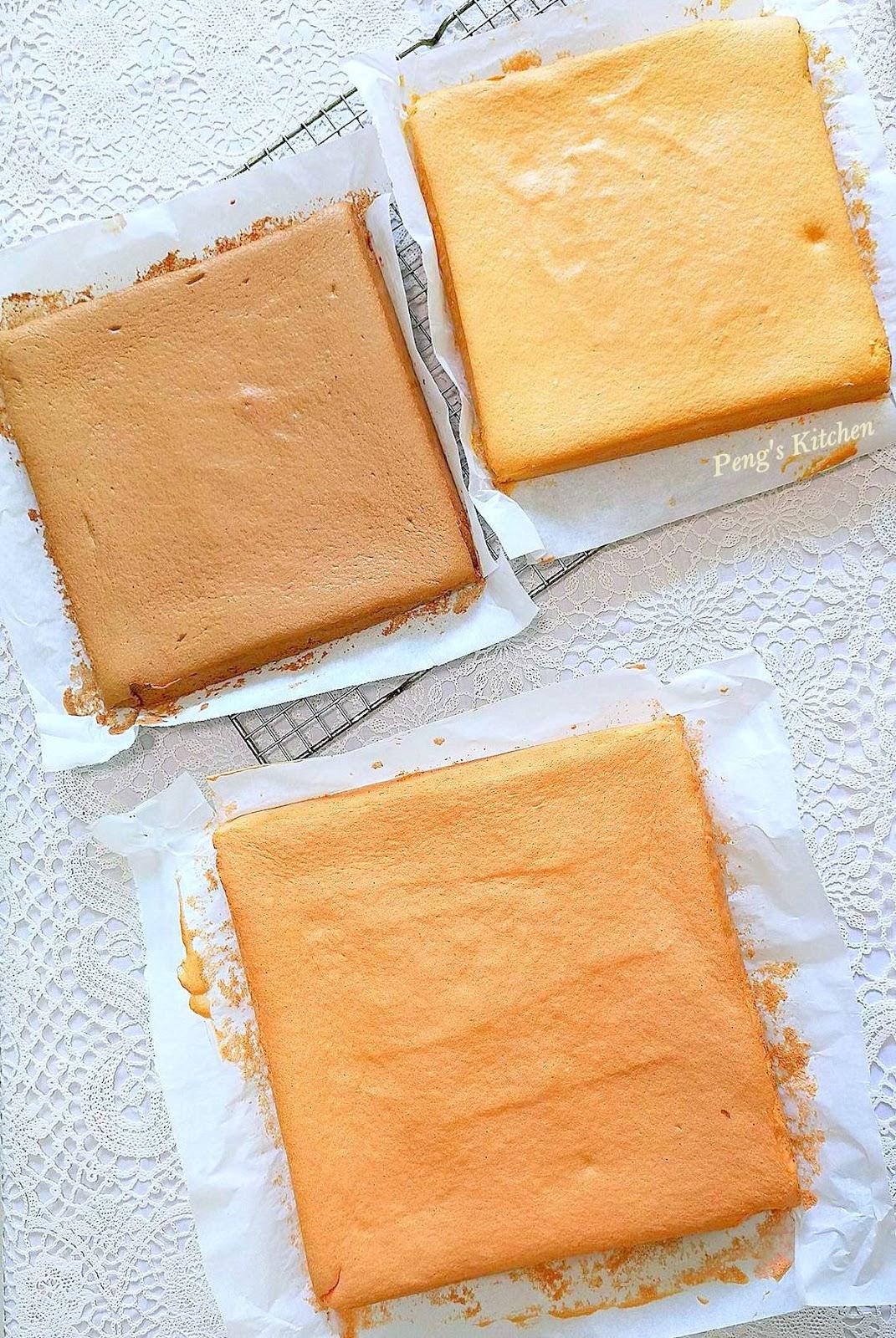 Basic Vanilla Sponge Cake Large Square