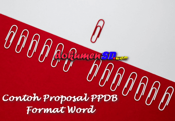 Contoh Proposal PPDB Format Word