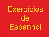 Exercício de espanhol. Completar com nv ou mb