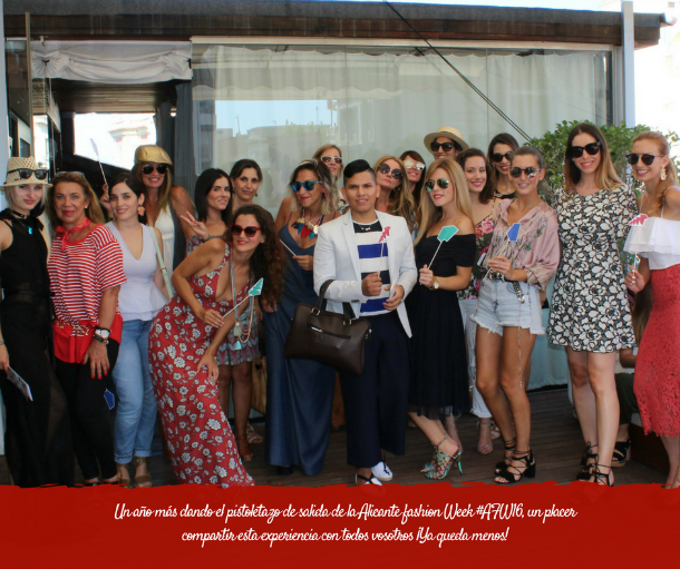 encuentro blogger Alicante fashion week afw16