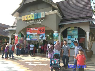 Tempat Menarik di Melaka Taman Mini Malaysia & Asean