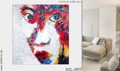 Genießen Sie den Zauber moderner junger Malerei, großformatige Berlin-Kunst!