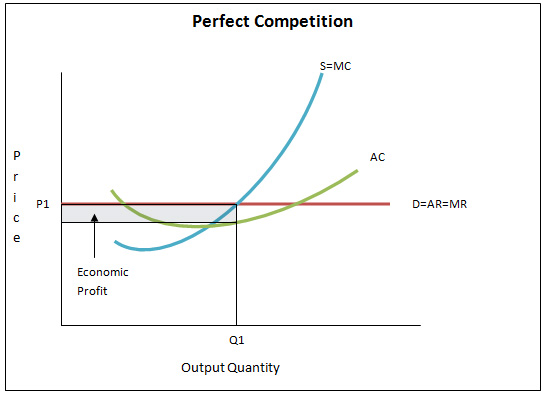 economics perfectly competitive market structure Which of the following is not a type of market structure a competitive  if one  perfectly competitive firm increases its level of output, market supply a will  increase and  a zero economic profit is earned by the monopolist b  production takes.