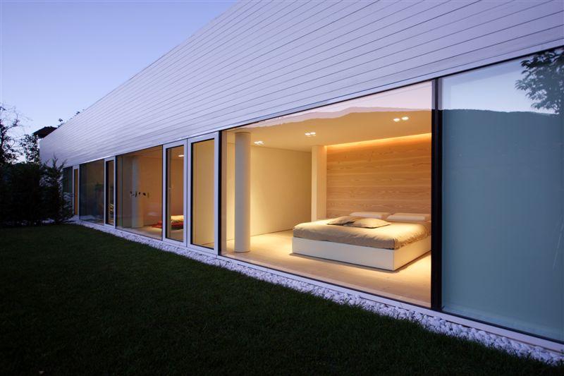 Glass Pavilion House Lake Lugano Switzerland Most