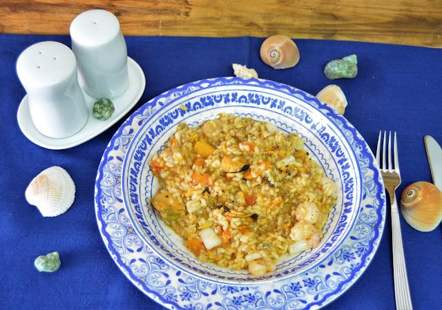 las delicias de mayte, risotto, risotto de marisco, risotto de marisco receta, risotto de marisco y parmesano, risotto de mariscos italiano, risotto de mariscos peruano, risotto de marisco cremoso, risotto de marisco y setas,