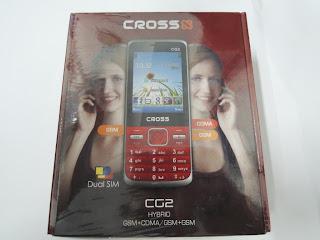 Cross CG2, Ponsel Hybrid GSM-CDMA Harga Murah