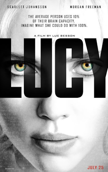 Poster of Lucy 2014 720p BRRip Dual Audio