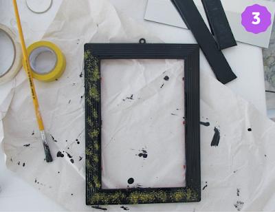 DIY bandeja espelhada - passo 3
