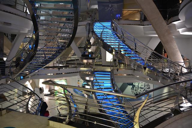 Caldea Andorra staircase