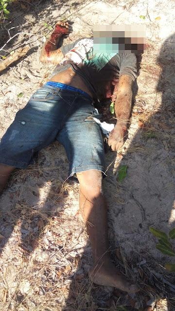 Barbárie: Após Homicídio população lincha acusados e decapitam a cabeça de um deles na zona rural de Tutoia