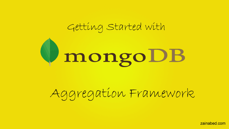 MongoDB Tutorials : Aggregation Framework | Tutorials for AngularJs