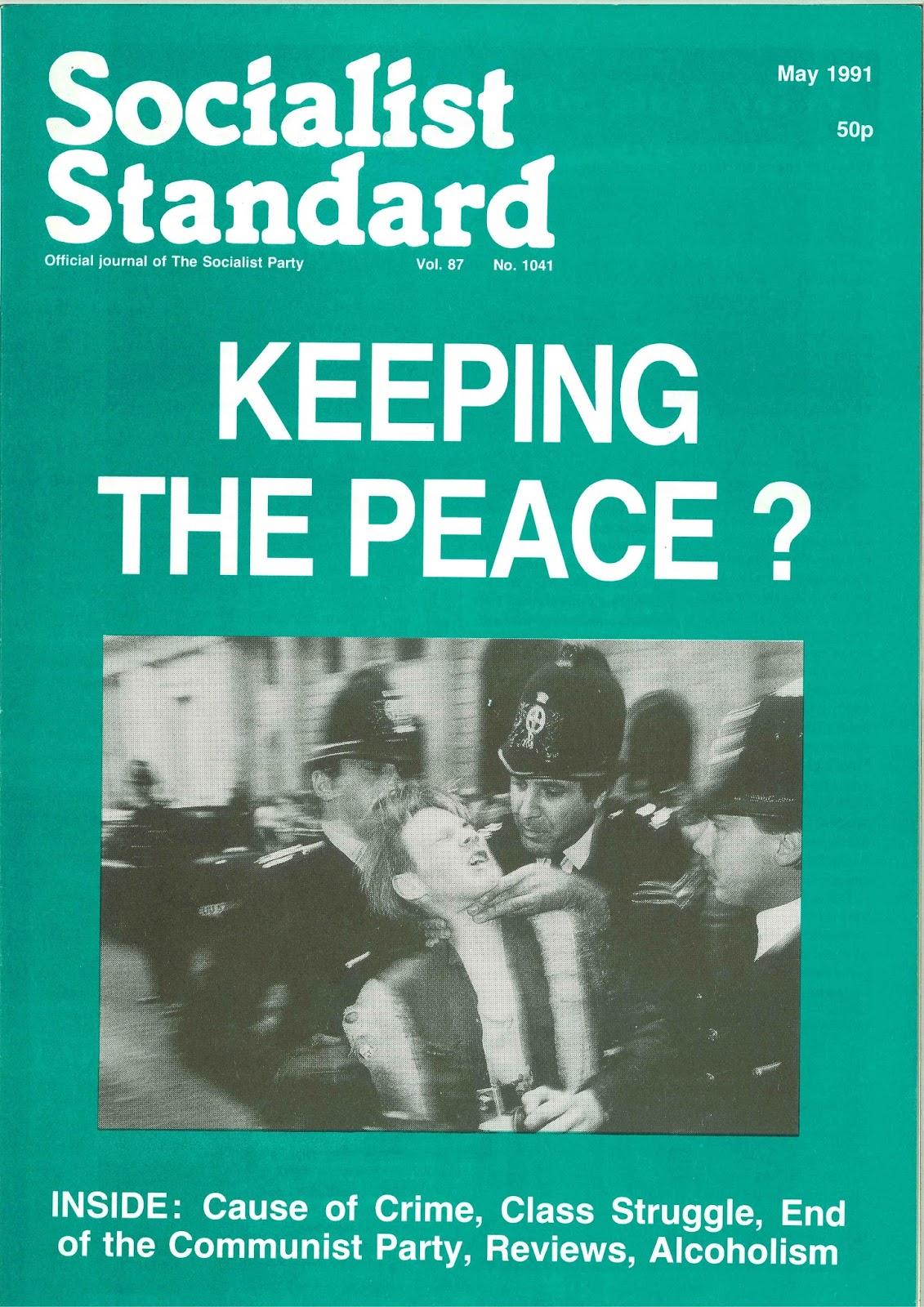 Socialist Standard Past & Present: 06/05/16