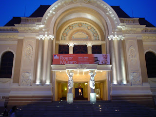 Opera. Ho Chi Minh Stadt