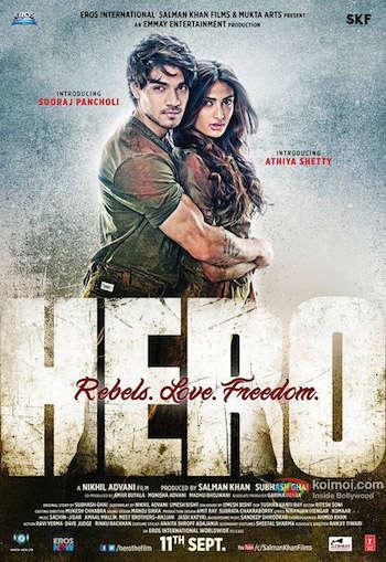 Hero 2015 Hindi DVDRip x264 700mb ESubs
