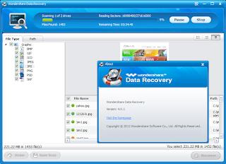 Wondershare Data Recovery 6.0.1.9 Full Version