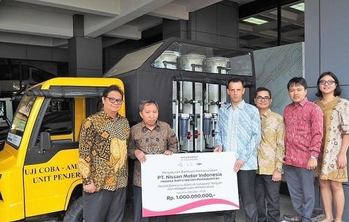 Donasi Nissan Motor Indonesia