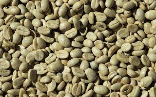 Café sin tostar