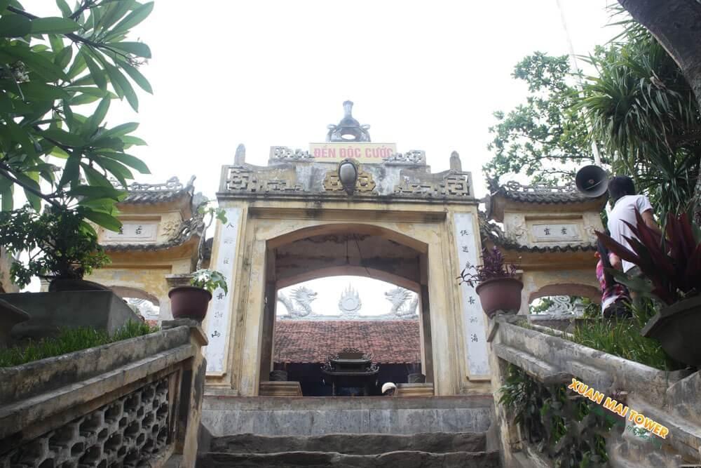 Khu danh lam đền Đội Cước