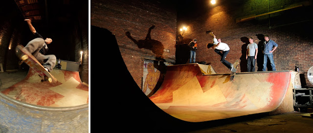 Autumn Bowl Skate Ramp
