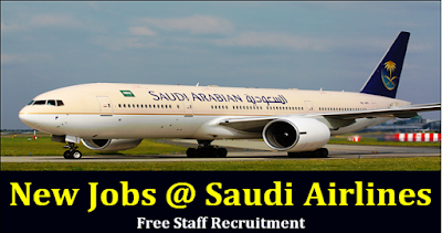 Job Vacancies at Saudi Arabian Airlines
