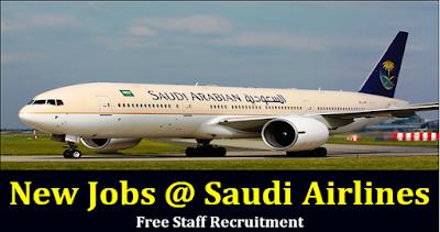 Job Vacancies at Saudi Arabian Airlines