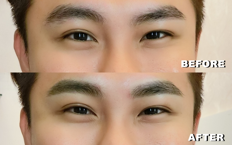 Korea Combo Eyebrow Embroidery For Men Too  OnlyWilliam