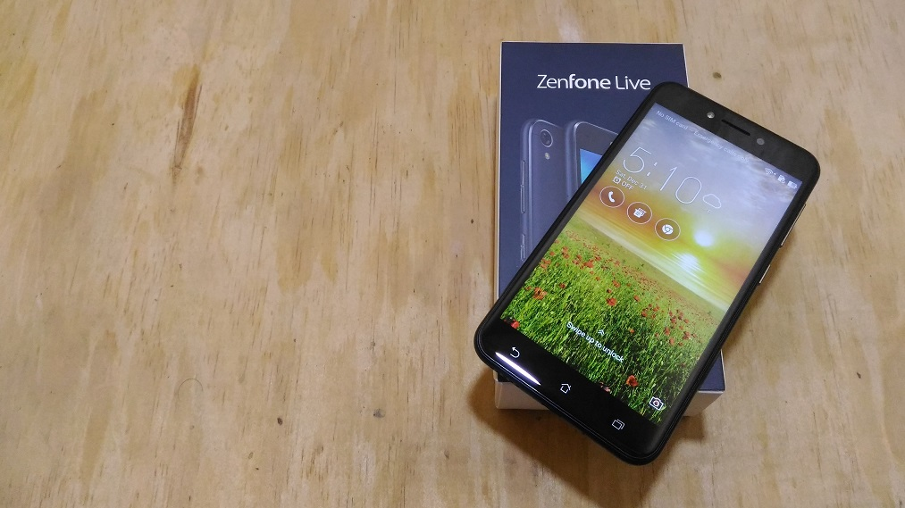 Image result for ASUS releases its first Android Go phone, the ZenFone Live