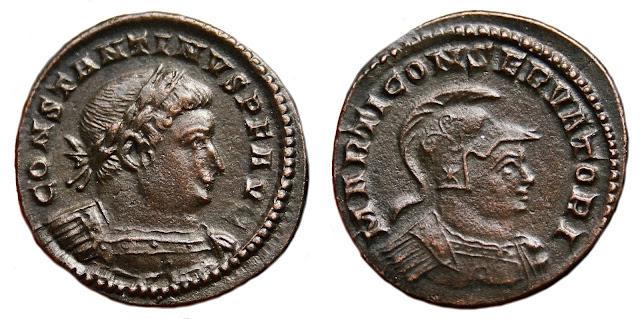 a nombre de Constantino I