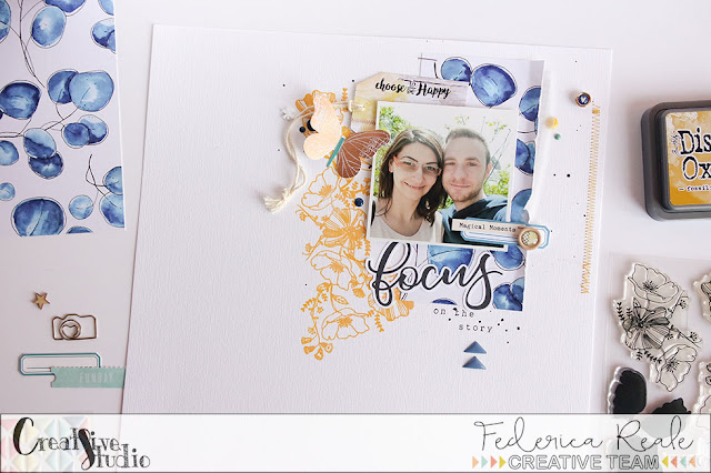 scrapbook layout | focus on the story by kushi per Creative Studio www.kkushi.com
