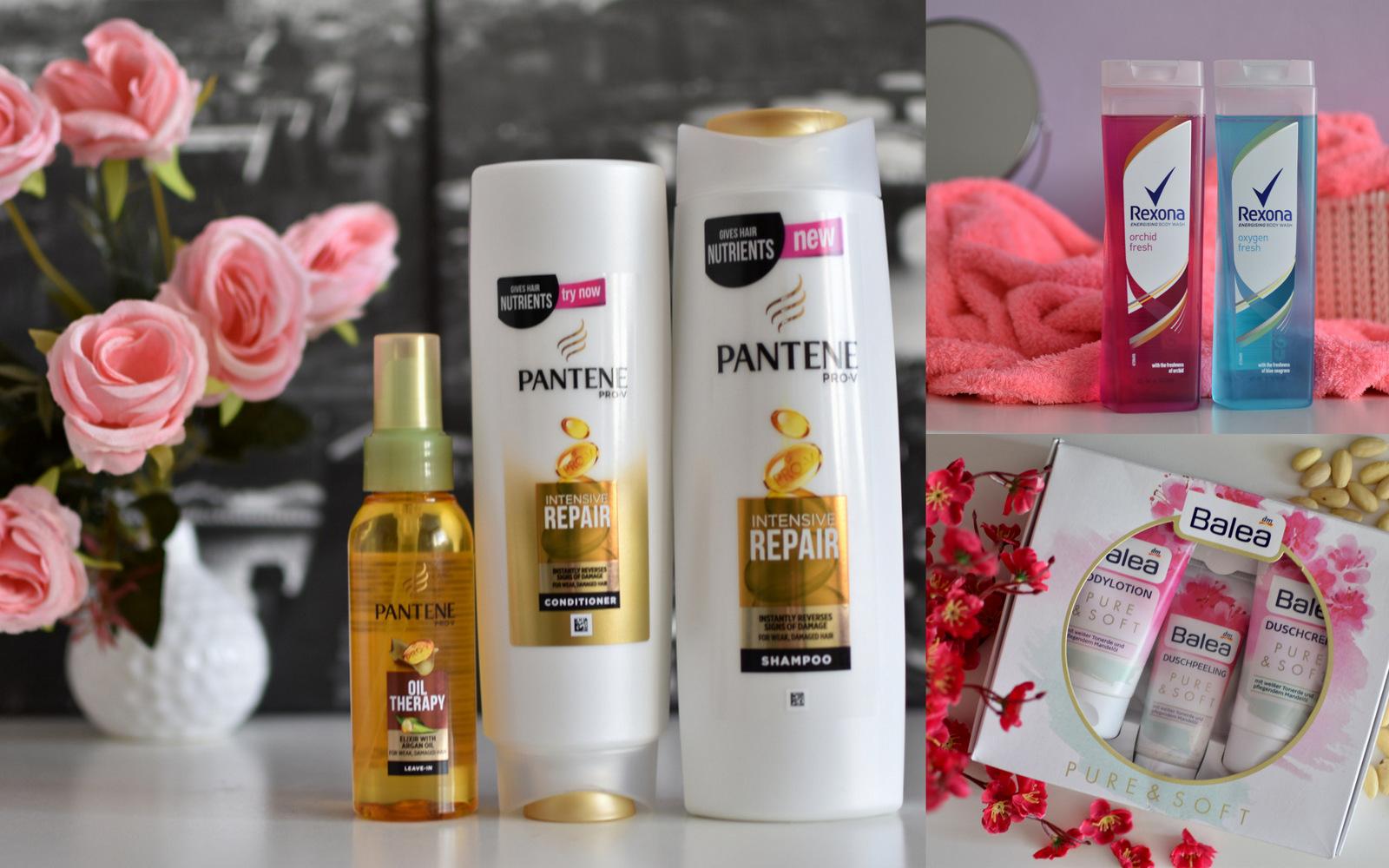 beauty tip: pantene & balea & rexona