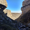 Вид из каньона ручья