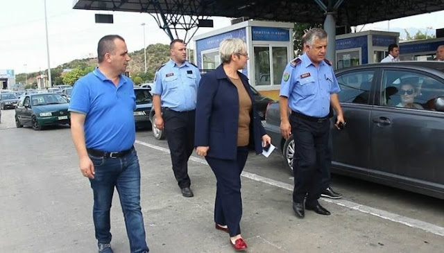 Aida Hanaj, Albanian Border Director at Kakavija border