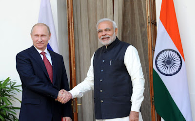 Russia honours PM Modi with highest civilian award - Order of Saint Andrew the Apostle