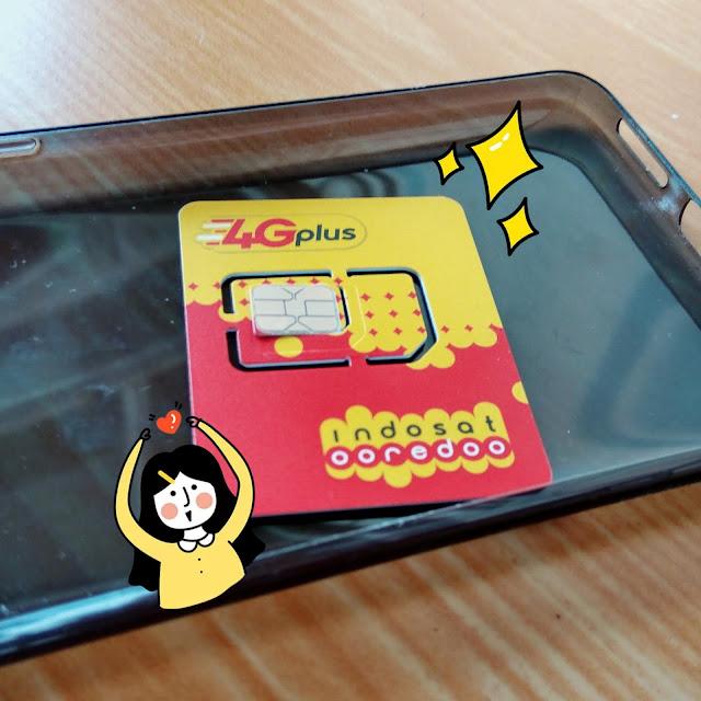 Indosat, Sim card Indosat 4G, 4G