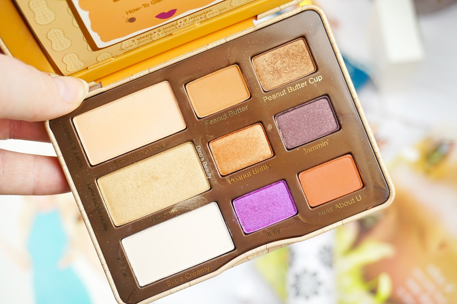 Beauty, Lifestyle, Beauty Bloggers, Bloggers, Lifestyle Bloggers, 2016, 2016 Favourites, Too Faced, Too Faced Cosmetics, Peanut Butter, Jelly, Peanut Butter and Jelly, Eyeshadow, Eyeshadow Palette