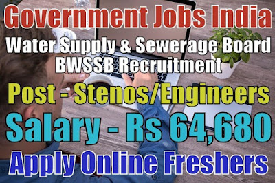 BWSSB Recruitment 2019