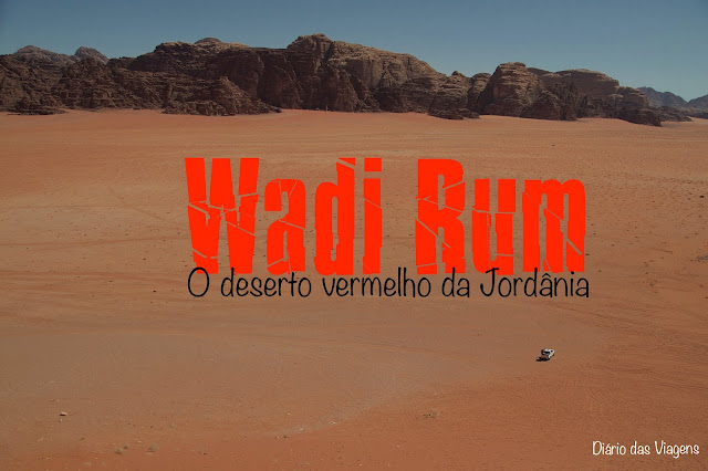 Visitar o deserto de Wadi Rum, Jordânia