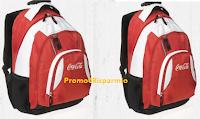 Logo Vinci 100 trolley-zaino Coca-Cola da Eurospar e Interspar
