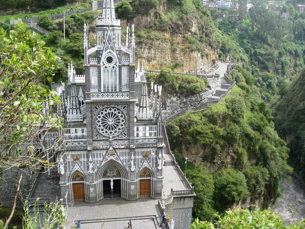 Las Lajas Sanctuary The South American Church That Looks Like A