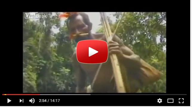 Veja a reação de Tribo indígena em primeiro contato com homem branco