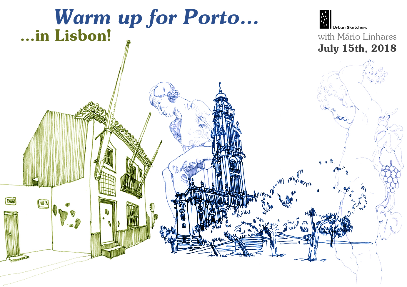 Porta Tv Brest.Warm Up For Porto In Lisbon Urban Sketchers