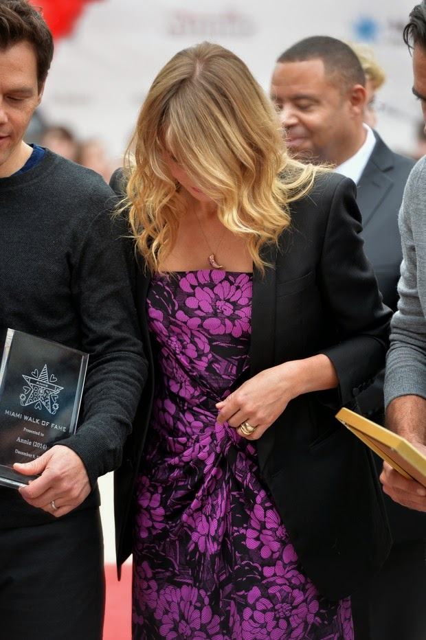 Photos: Cameron Diaz shows Alliance amid rumors of engagement