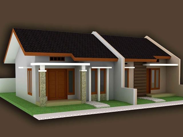 Desain Rumah Kontrakan Kopel Minimalis Bagus